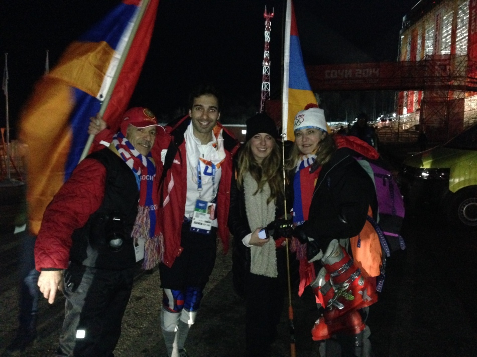 Serebrakian Family - Olympics
