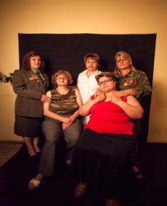 Artsakh War Veterans: Hasmik Matevosyan, Manushak Abgaryan, Nazani Hovhakanyan, Araksya Galstyan, Karine Khazarian