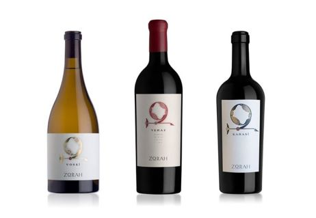 Zorah Wines all 3 bottles
